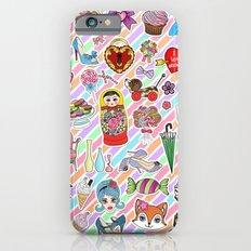 I Love Stickers iPhone 6 Slim Case