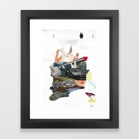 Solid Things 7 Framed Art Print
