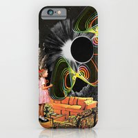 iPhone & iPod Case featuring Inter-Dimensional Phone Line by Eugenia Loli