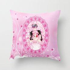 Princess Serenity and Prince Endymion Throw Pillow