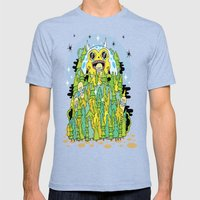 The Monster Of Skate For… Mens Fitted Tee Tri-Blue SMALL
