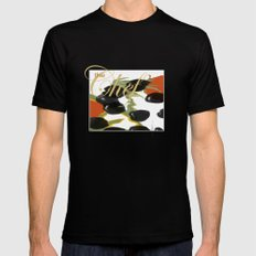 antipasto / olives Black SMALL Mens Fitted Tee