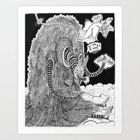 R.I.Puppy  Art Print