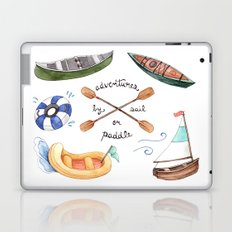 Adventures by Sail or Paddle Laptop & iPad Skin