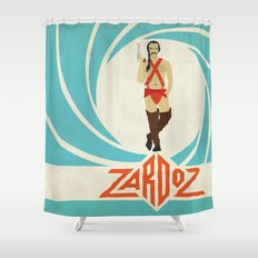 Agent Zardoz Shower Curtain