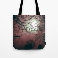 Day Moon Tote Bag