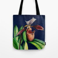 Magnificent Orchid  Tote Bag