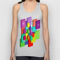 Blocked View Unisex Tank Top