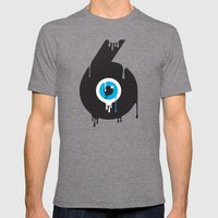 Paint your Society Mens Fitted Tee Tri-Grey SMALL