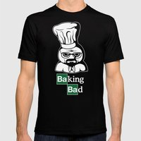 Baking Bad Mens Fitted Tee Black SMALL