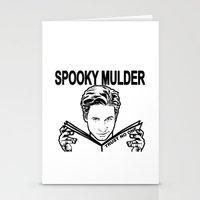 Spooky Mulder Trust No O… Stationery Cards