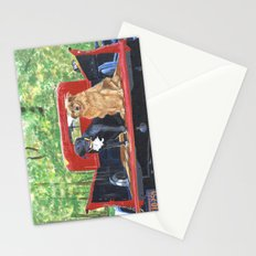 Antique Truck with Dogs Stationery Cards