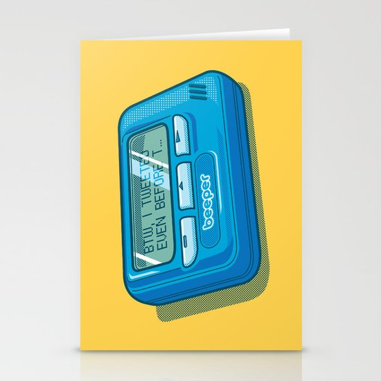 Text Hipster Stationery Card