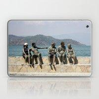 People Taking A Mudbath … Laptop & iPad Skin