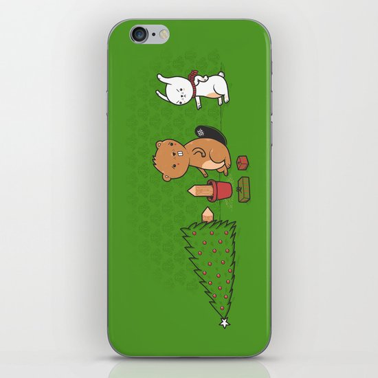Beavers ruin Christmas iPhone & iPod Skin