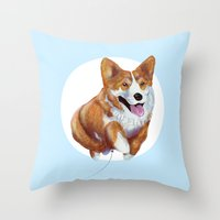 Balloon Dog Throw Pillow