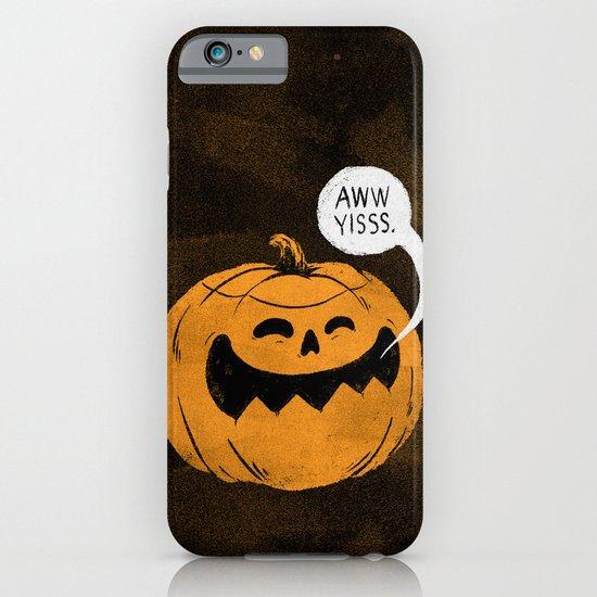 Pumpkin Season iPhone & iPod Case