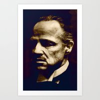 Godfather - I Will Make … Art Print