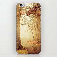 I Heard Whispering in the Woods iPhone & iPod Skin
