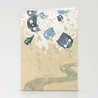 Out Of All Them Bright S… Stationery Cards