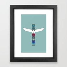 Totem Spirit Framed Art Print