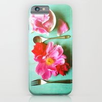 You Are What You Eat - Aqua iPhone 6 Slim Case