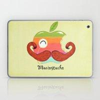 The Macinstache Laptop & iPad Skin