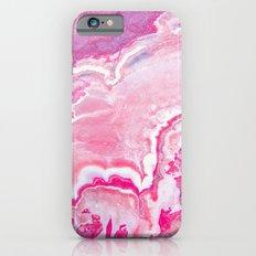 Pink onyx marble Slim Case iPhone 6s