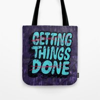 Not Getting Things Done Tote Bag