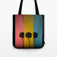 Vintage Palm Tree Tote Bag