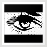 POP eye Art Print