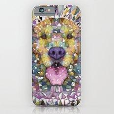 rainbow dog iPhone 6 Slim Case