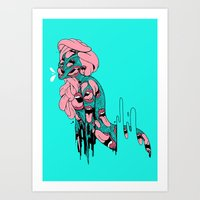 PSYCHEDELICK Art Print