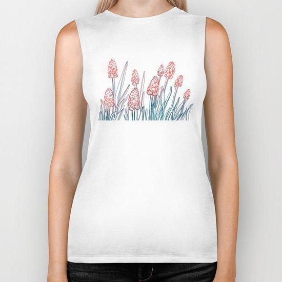 Hyacinths Biker Tank