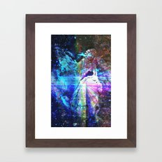 Even The Heavenly Falter II Framed Art Print