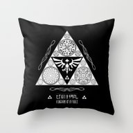 Legend Of Zelda Kingdom … Throw Pillow