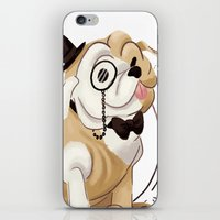iPhone & iPod Skin featuring Classy by Jelly and Paul