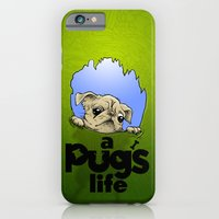 a Pug's life iPhone 6 Slim Case