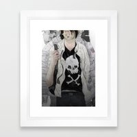 Choice part one Framed Art Print