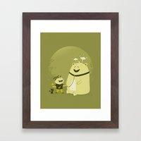 Meet Momo Framed Art Print