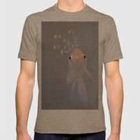 You looking at me, fishy?  Mens Fitted Tee Tri-Coffee SMALL