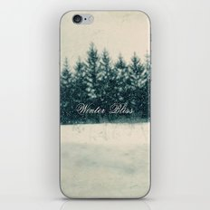 Winter Bliss iPhone & iPod Skin