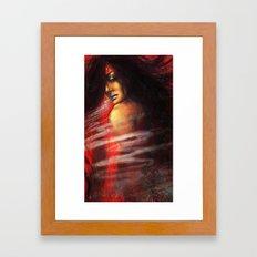 Yuki-Onna Framed Art Print