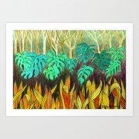 Garden Of Eden 2 Art Print