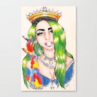 PRINCESS HIGH Canvas Print