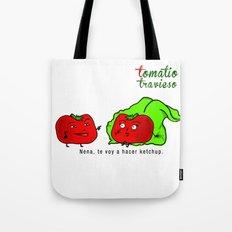 Tomatito Travieso Tote Bag