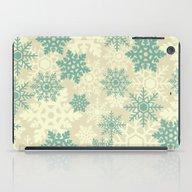 Snowflakes #2 iPad Case