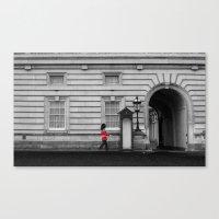 Royal Guard. Canvas Print