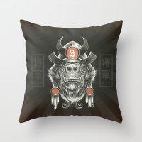 Shogun Executioner Throw Pillow