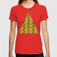 Impossible Trinity Womens Fitted Tee Red SMALL